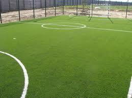 Почему футбольное поле в полоску? фото