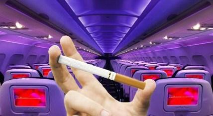 Почему курение в самолете запрещено? фото