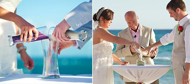 Песочная церемония и Свадебная песочная церемония фото