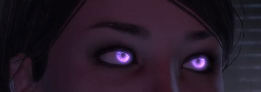Почему на фото глаза светятся? фото