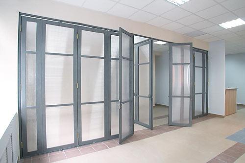 Какие бывают офисные перегородки? фото