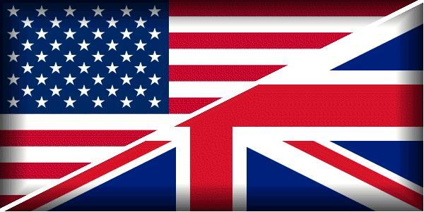 флаг великобритания/америка