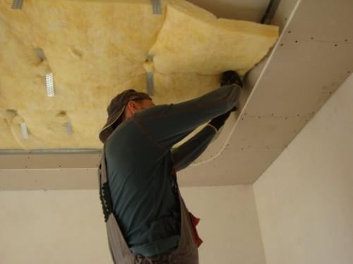 Как звукоизолировать потолок? фото