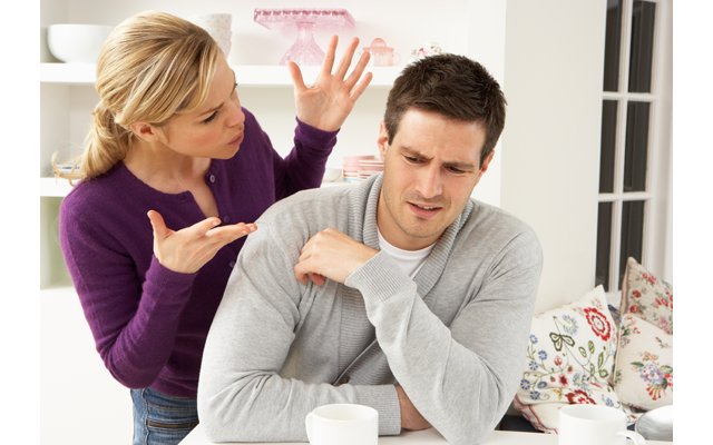 Почему семейные пары ссорятся? фото
