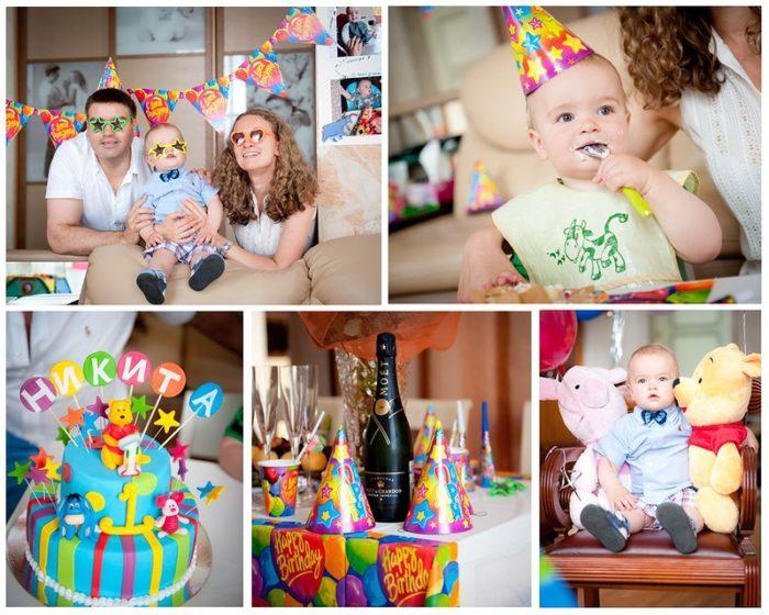 1 год день рождение детям: