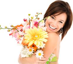 Как заказать цветы в другой город? фото