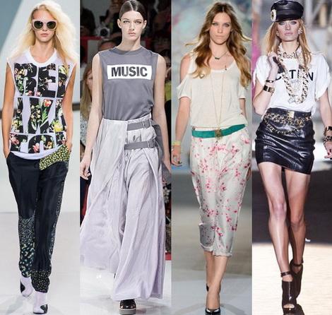 Какие футболки в моде 2013? фото