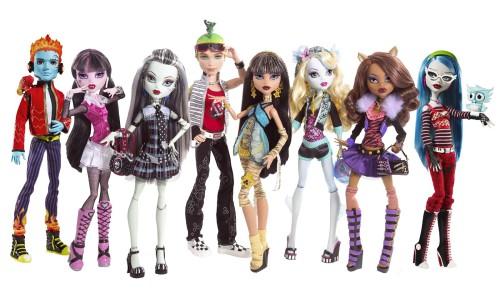 Что особенного в куклах Монстер Хай? - фото