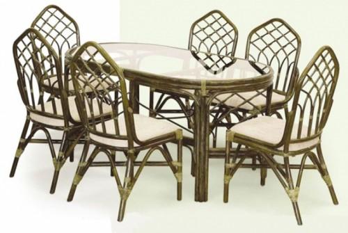 Чем хороша мебель из ротанга? фото