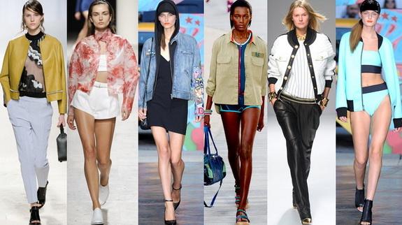 Какие куртки в моде весной 2014? - фото