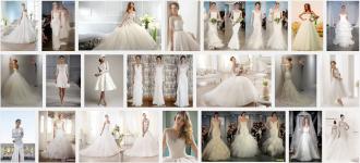 Свадебные коллекции 2014 фото