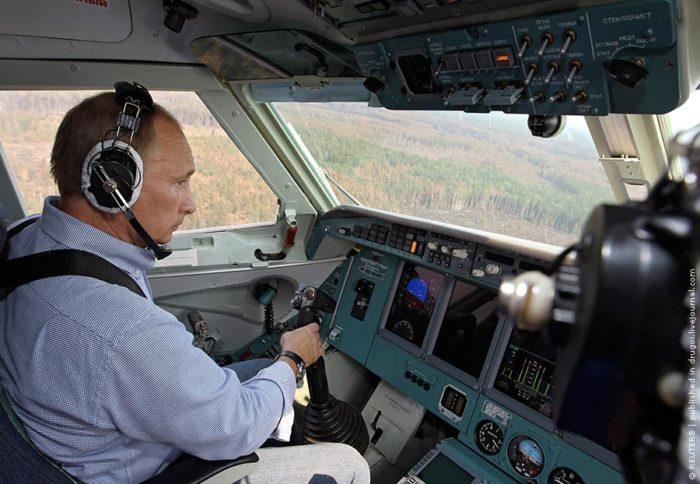 полет на самолете
