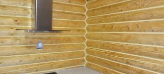 Как сделать теплый шов для деревянных домов? фото