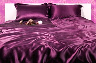 постельное белье шелк