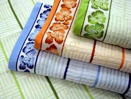 полотенца становятся жесткими