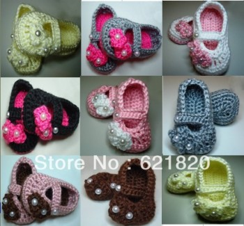 35-off-3pairs-6pcs-font-b-Pearl-b-font-Baby-crochet-shoes-cheap-shoes-baby-wear