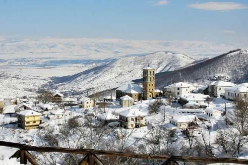 зимняя Греция