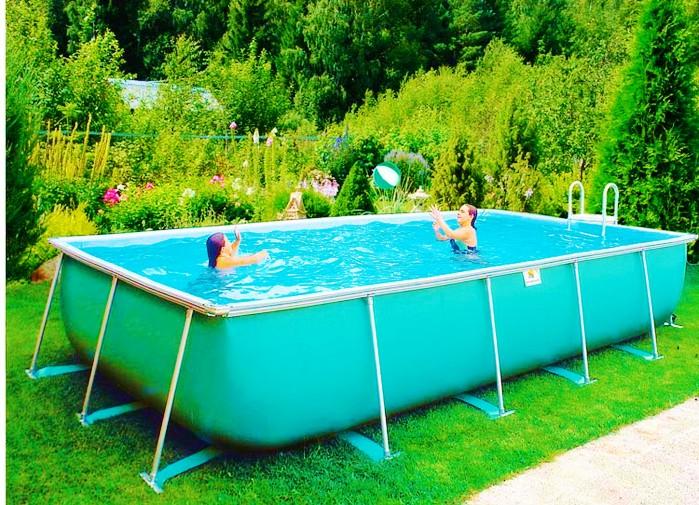 выбираем дачный бассейн