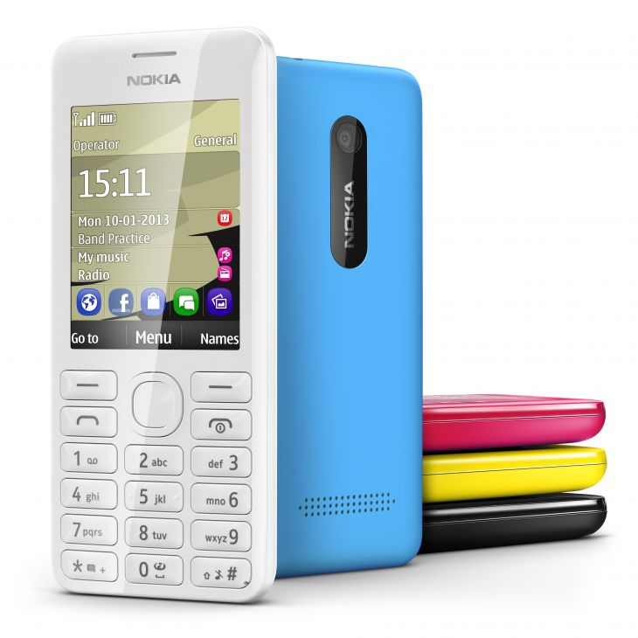 Прошиваем Nokia 206