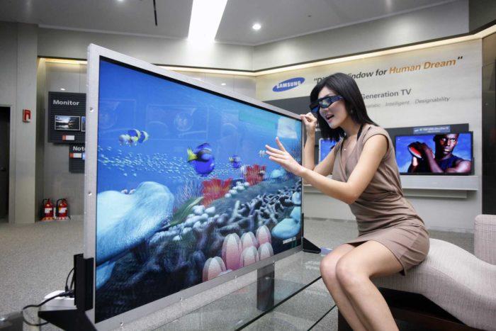 3d телевизор