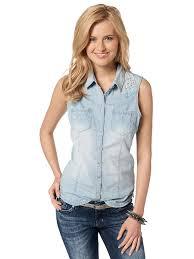 женская рубашка без рукавов
