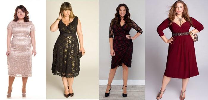 Платья для девушек с широкими бедрами
