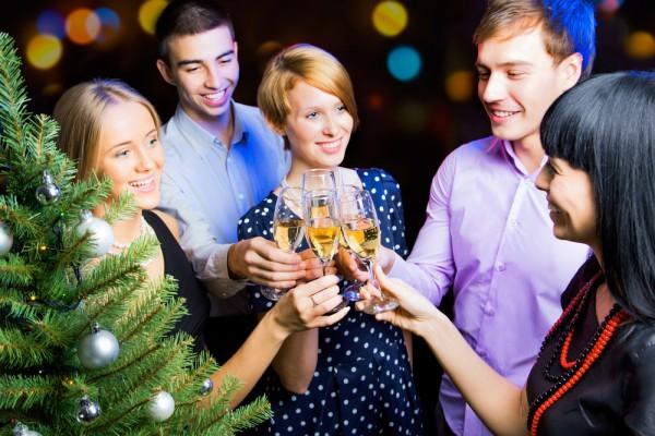 Оригинальное поздравление коллегам на новый год