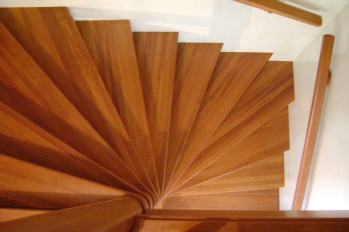 виды винтовых лестниц