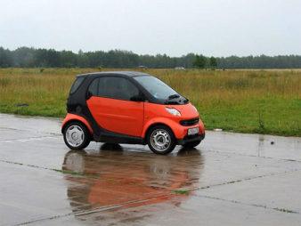 маленький автомобиль