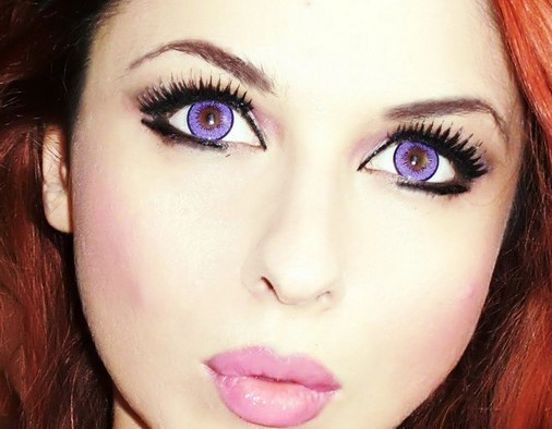 косметикой увеличить глаза