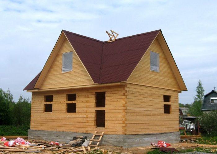 Как построить дом из бруса? фото