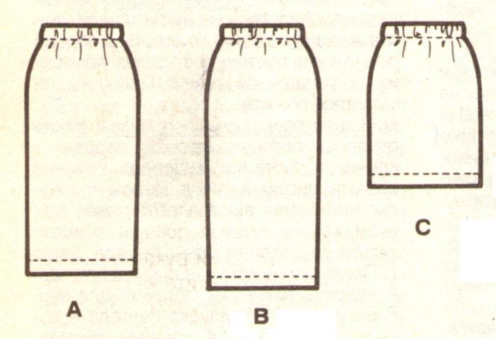 Как сшить прямую юбку на резинке? + ВИДЕО фото