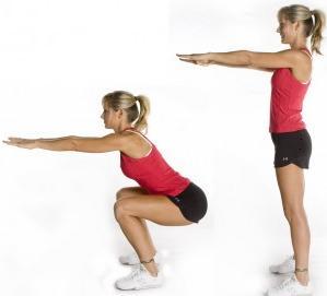 Какие упражнения помогут похудеть? 6 Простых упражнений. фото