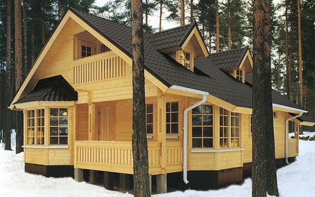 Почему строительство домов и бань из дерева это залог здоровья? фото