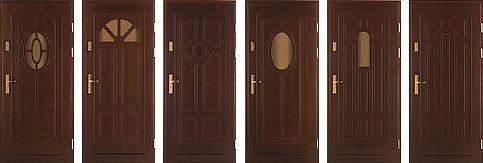 Как сконструированы наружные металлические двери? фото