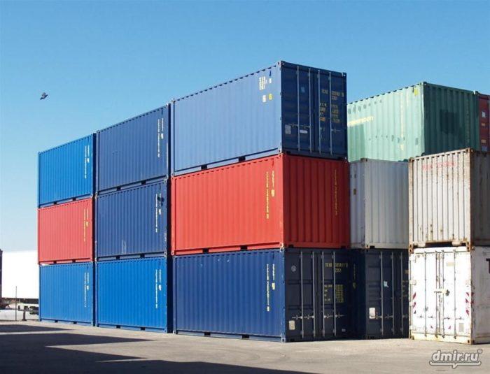 Доступные контейнеры 20 и 40 футов в Москве фото