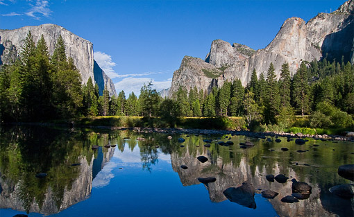Достопримечательность штата Калифорния — заповедник долины Йосемити фото