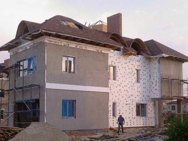 Как производить утепление фасадов зданий? фото
