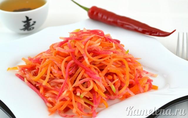 Какие салаты можно приготовить из редьки? фото