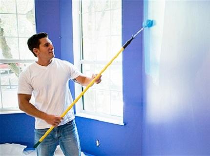 Глянцевая или матовая? Выбираем краску для потолка и стен фото