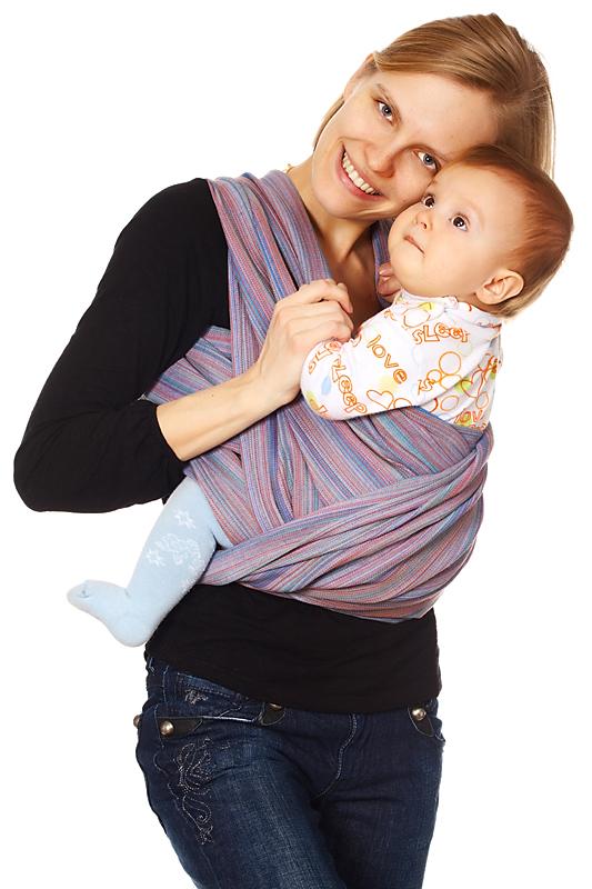 Как использовать слинг шарф? фото