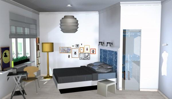 Как обустроить гардеробную в маленькой квартире? фото