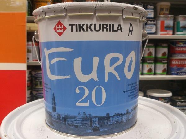 Сфера использования краски тиккурила евро 20 фото