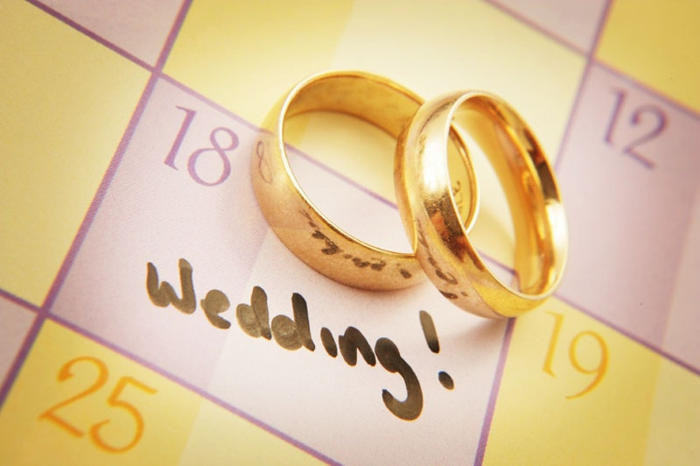 Как правильно выбрать дату свадьбы? фото