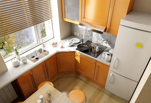 Как создать дизайн кухни в хрущёвке? Советы дизайнеров. - фото