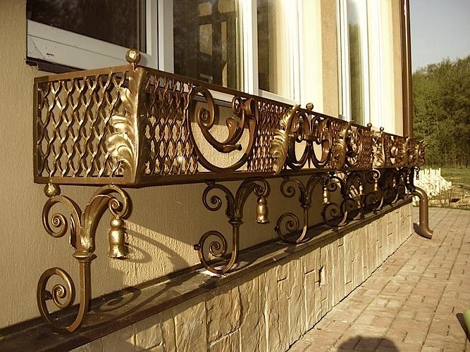 Как быстро сделать ажурные украшения для кованых изделий самому? фото
