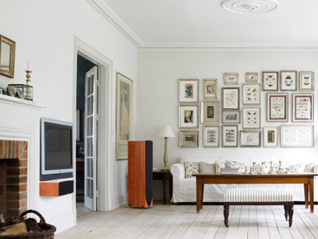 Как расположить картины на стене? фото