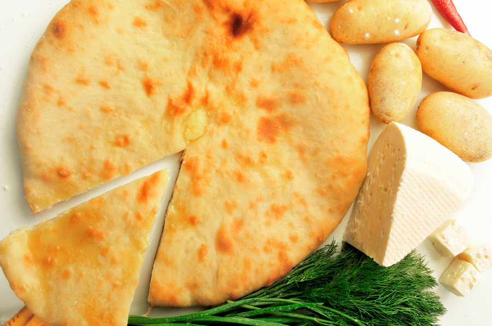 Как приготовить осетинский пирог с сыром? фото