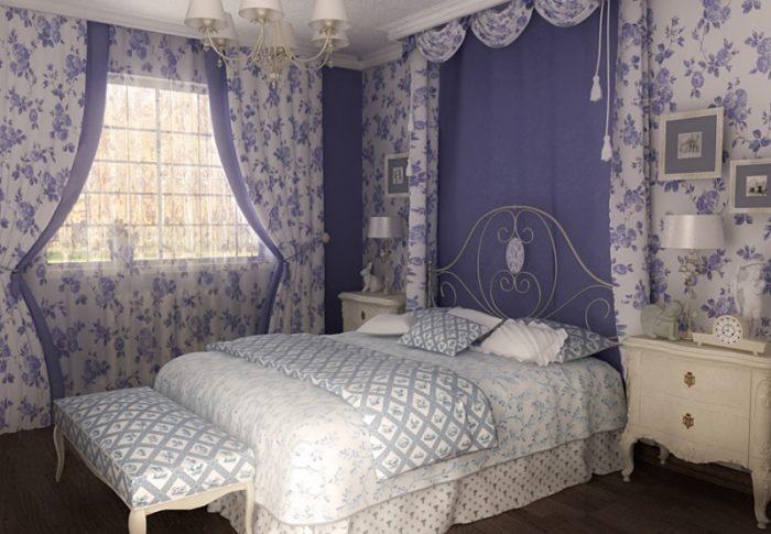Как сделать спальню в стиле Прованс? фото