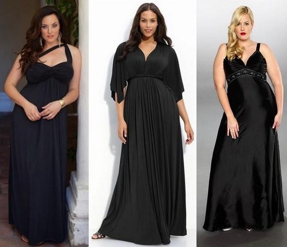 Как выбрать вечернее платье для полных? фото
